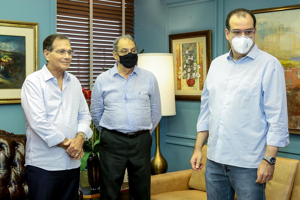 Beto Studart, Luiz Miranda E Delano Macedo