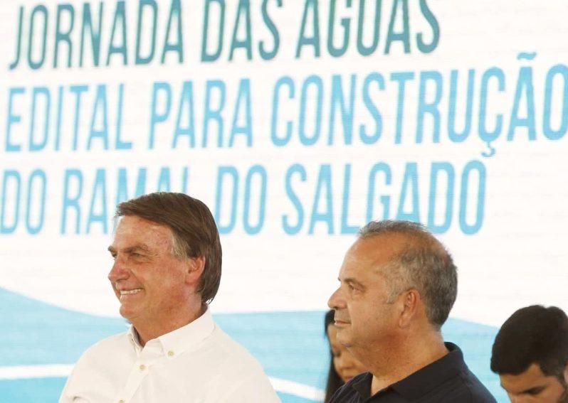 Bolsonaro anuncia mais de R$ 600 mi em obras de segurança hídrica no Ceará e critica o relatório da CPI da Covid