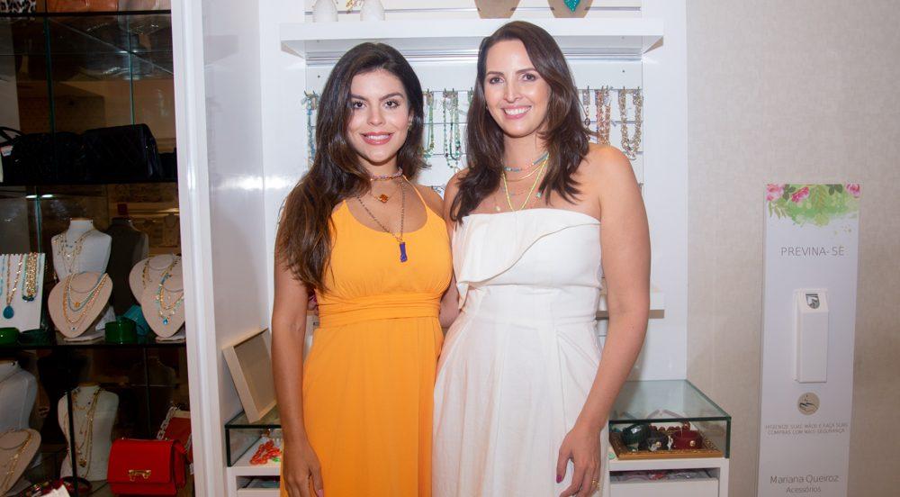 Mariana Queiroz e Camila Nogueira recebem convidadas especiais no lançamento da nova coleção da MQ Acessórios