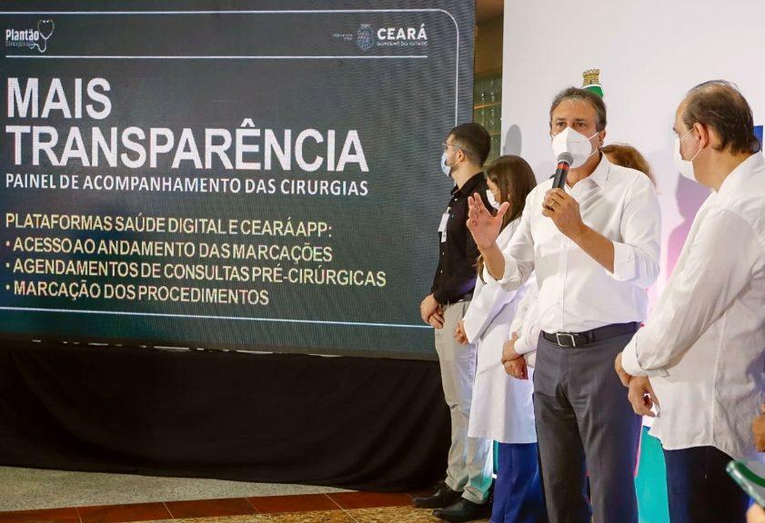 Governo do Ceará lança novo programa visando realizar 30 mil cirurgias eletivas