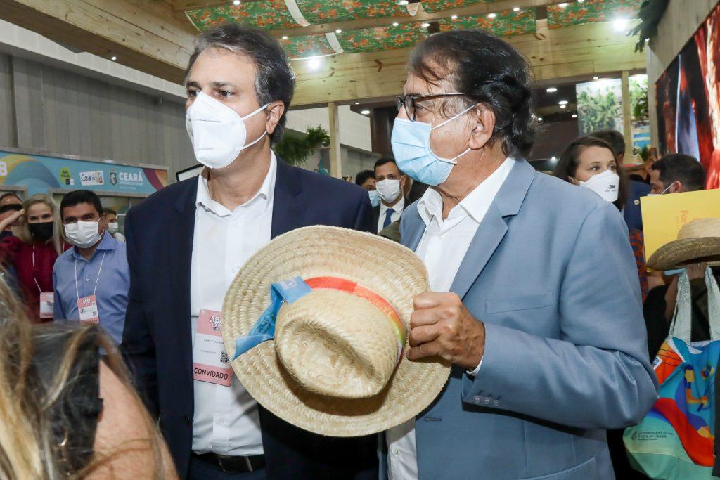 Camilo Santana E Arialdo Pinho