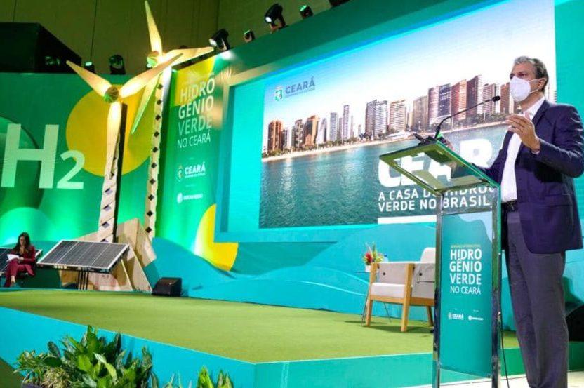 Camilo Santana afirma que o Ceará é a casa do Hidrogênio Verde do mundo