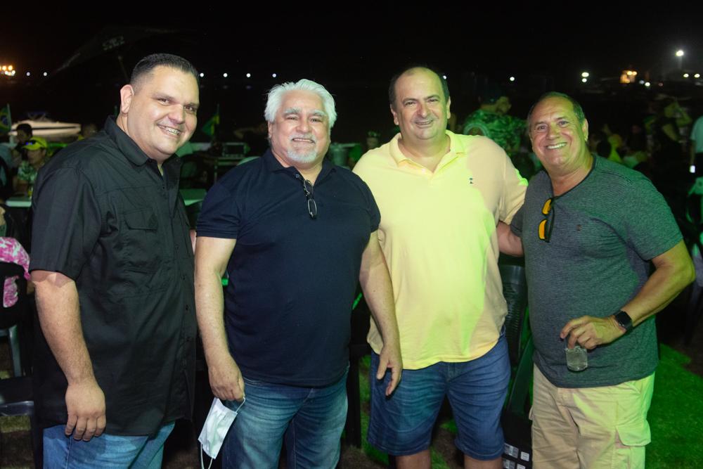 Carlos Armando Caputo, Luiz Carlos Dantas, Marlon Almeida E Pedro Peres