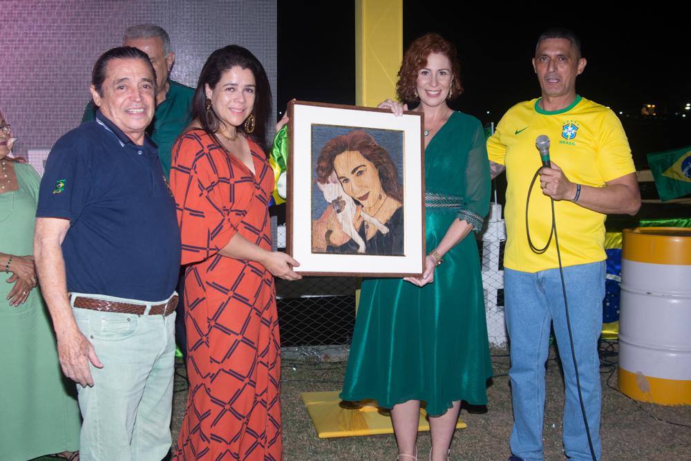 Carlos Castelo, Flavia Castelo, Carla Zambelli E Coronel Aginaldo