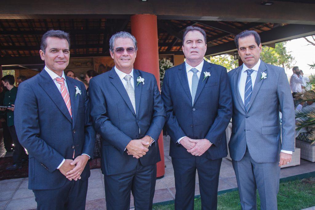 Claudio Moreira, Vicente De Castro, Bertrand Boris E Etevaldo Nogueira