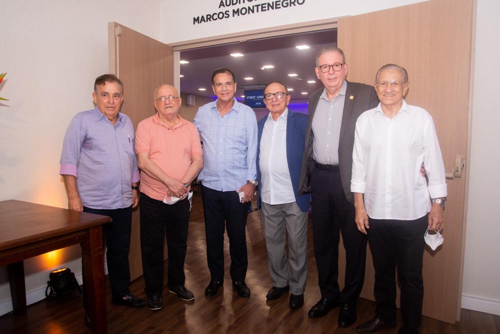 Claudio Targino, Aloísio Ramalho, Beto Studart, Marcos Montenegro, Ricardo Cavalcante E Alfredo Costa