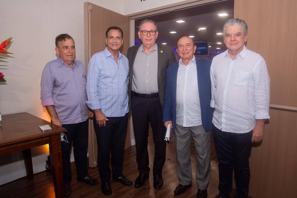 Claudio Targino, Beto Studart, Ricardo Cavalcante, Marcos Montenegro E Chico Esteves (2)