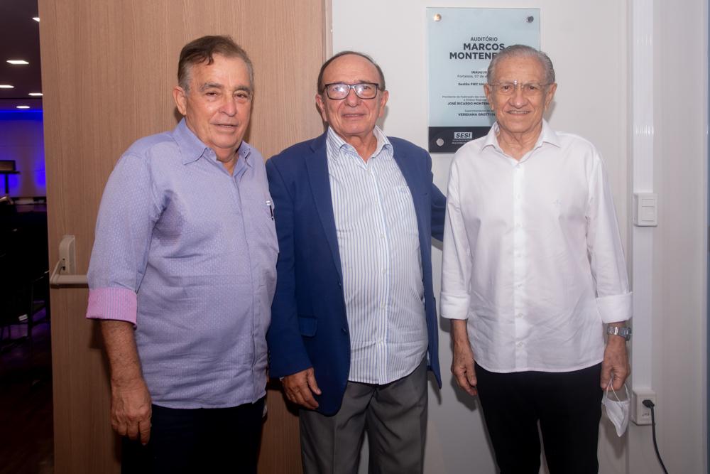 Claudio Targino, Marcos Montenegro E Alfredo Costa