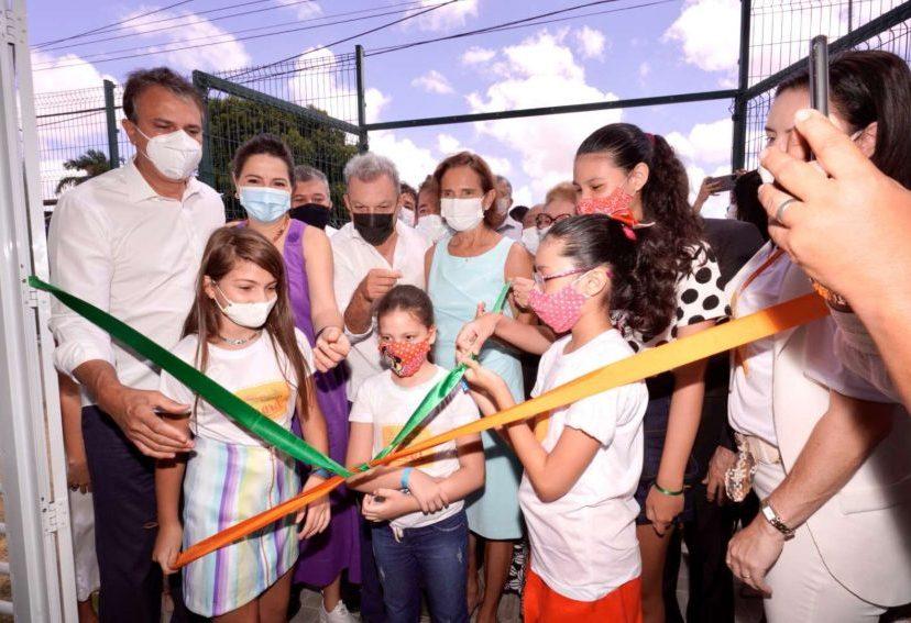Governo do Ceará entrega novo Complexo Mais Infância situado no João XXIII