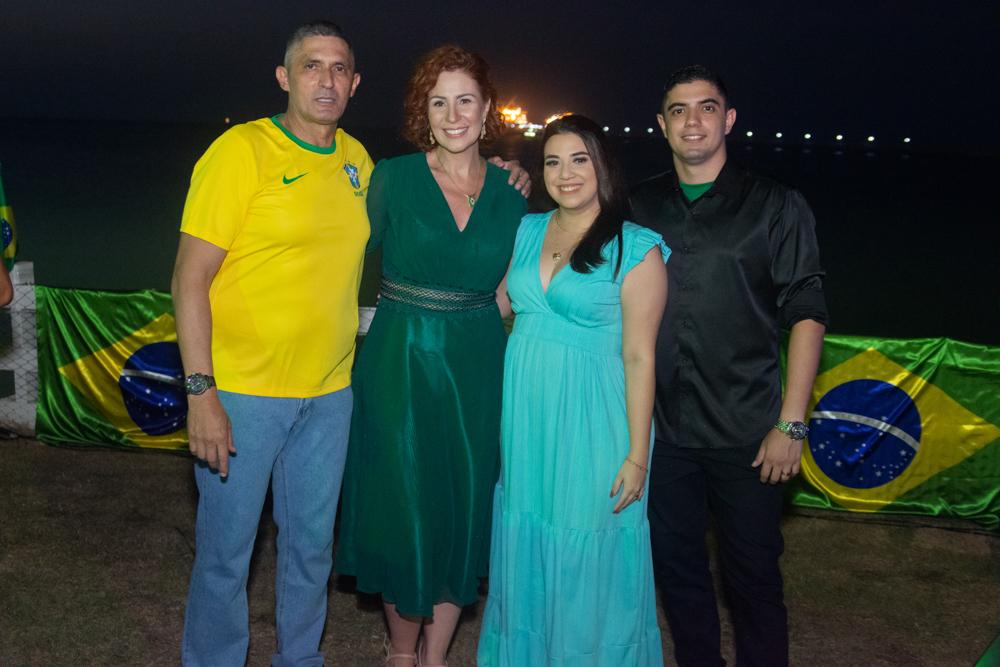 Coronel Aginaldo, Carla Zambelli, Barbara Almeida E Pedro Henrique