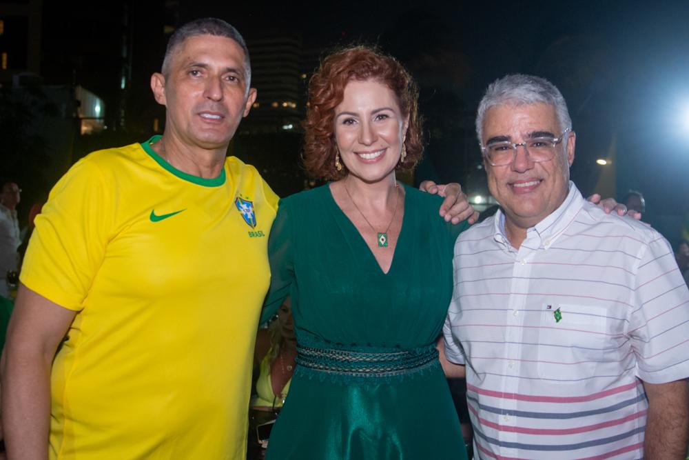 Coronel Aginaldo, Carla Zambelli E Eduardo Girão