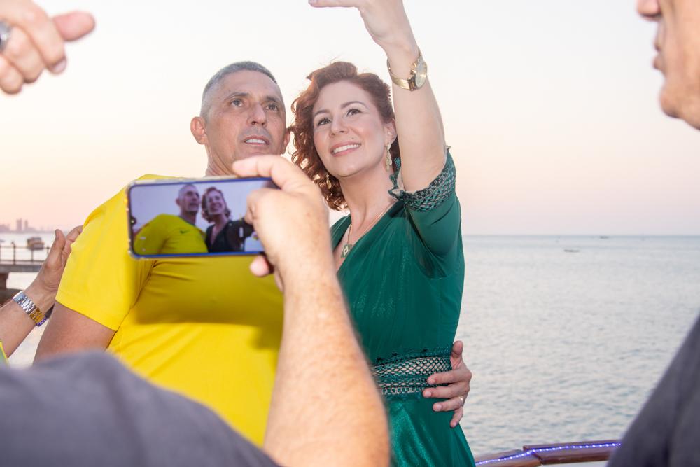Coronel Aginaldo E Carla Zambelli