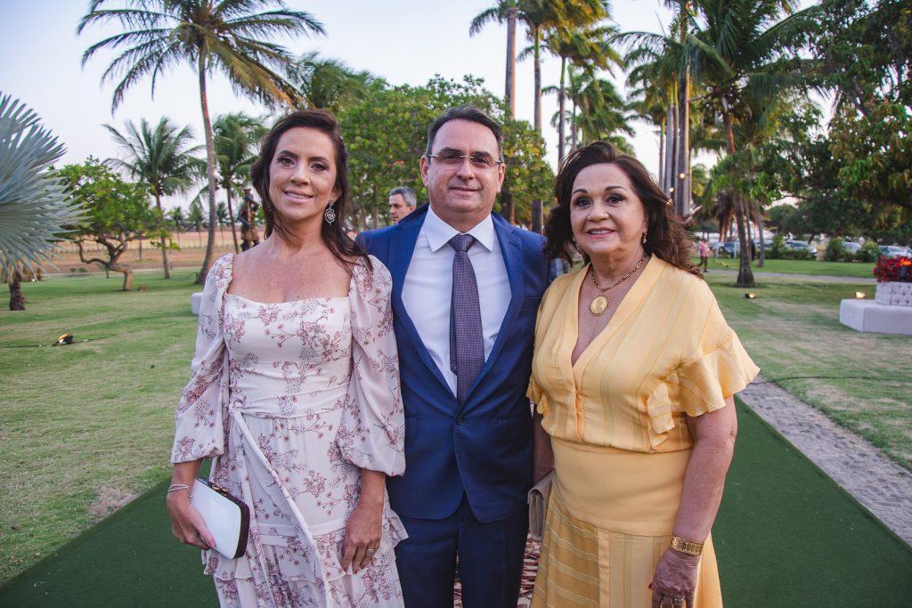 Cristiane Nogueira, Neto Nogueira E Eliane Nogueira