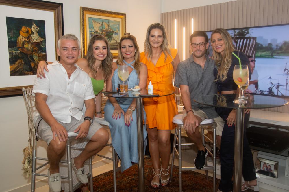 Cristiano E Danielle Peixoto, Tatiana Luna, Rachel Cavalcanti, Felipe Bezerra E Mariana Dafonte