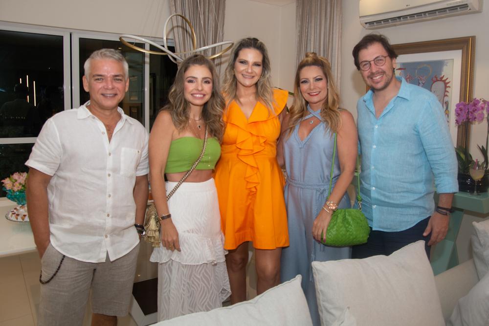 Cristiano Peixoto, Danielle Peixoto, Rachel Cavalcanti, Tatiana Luna E Danilo Cavalcanti