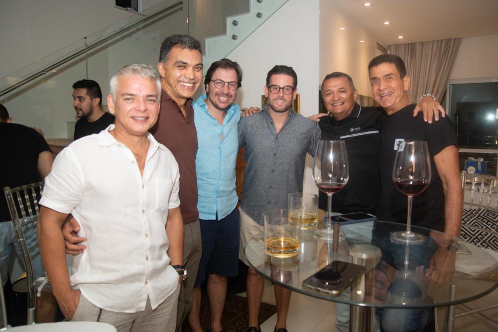 Cristiano Peixoto, Egidio Pelucio, Danilo Cavalcanti, Felipe Bezerra, Carlos Ramos E José Ximenes