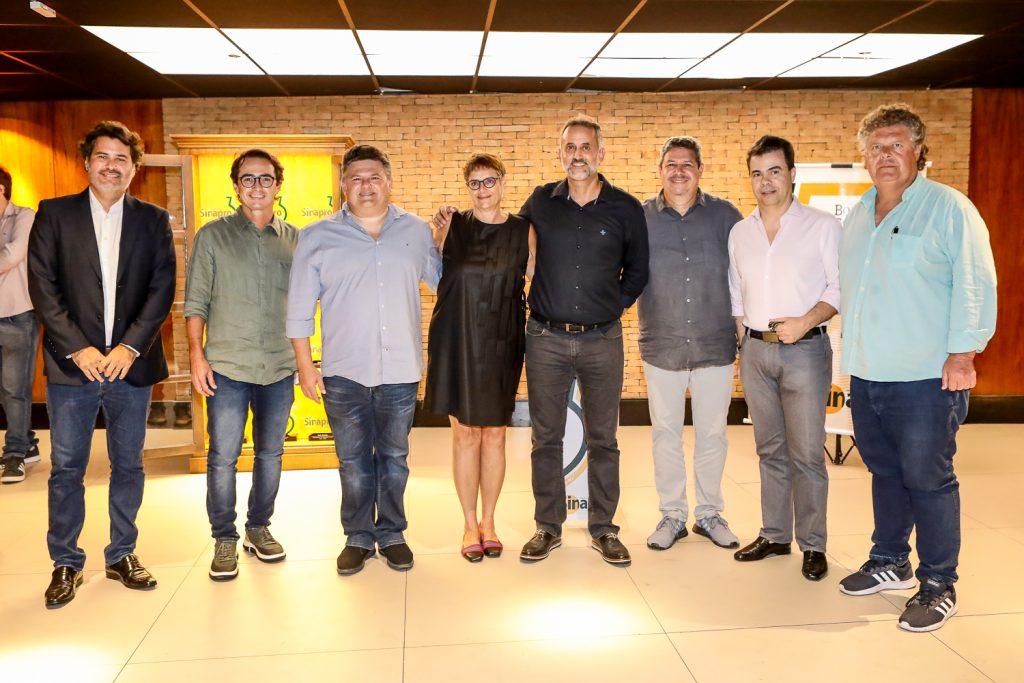 Daniel Queiroz, Diacomo Braile, Lavour Neto, Celina Bueno, Henrique Donato, Bob Santos, Duda Brigido E Evandro Colares (1)