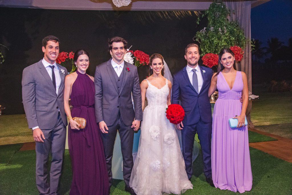 Danilo Aragao, Nayana Azevedo, Raphael Nogueira, Manuela Rolim, Guilherme Rolim E Germana Frota