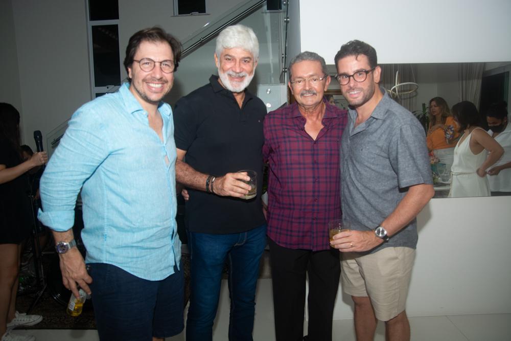 Danilo Cavalcanti, Tenisson Silva, Walter Amaral E Felipe Bezerra