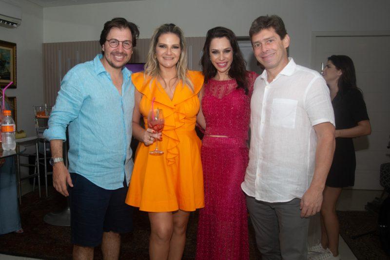 Duplo Brinde - Sunset party marca a celebração da nova idade de Rachel Fortes e Danilo Cavalcanti.