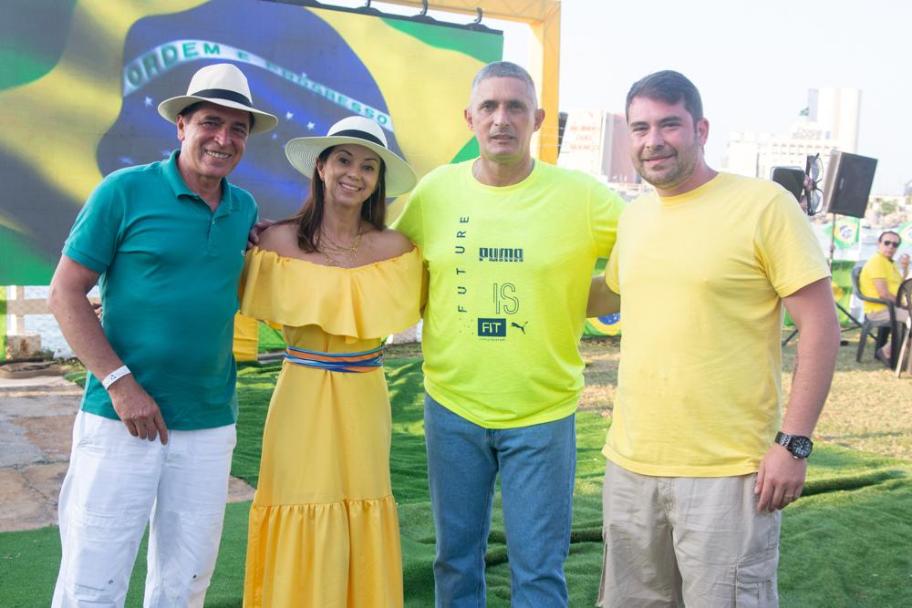 Denis Sanches, Rosangela Sousa, Coronel Aginaldo E Guilherme Sanches