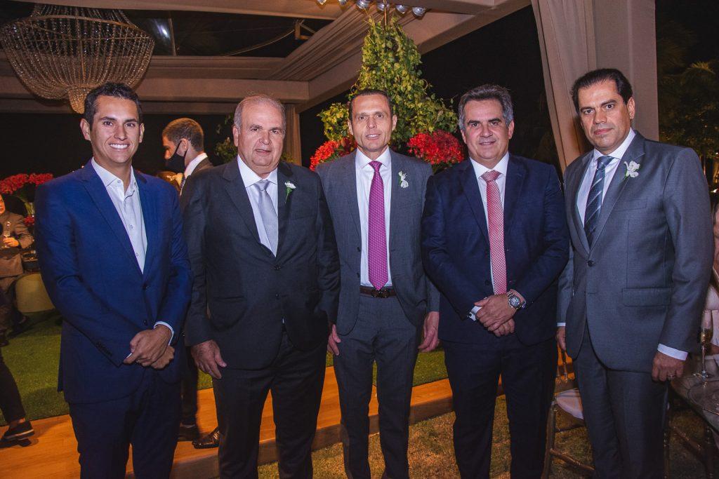 Domingos Neto, Haroldo Diogo, Eduardo Diogo, Ciro Nogueira E Etevaldo Nogueira