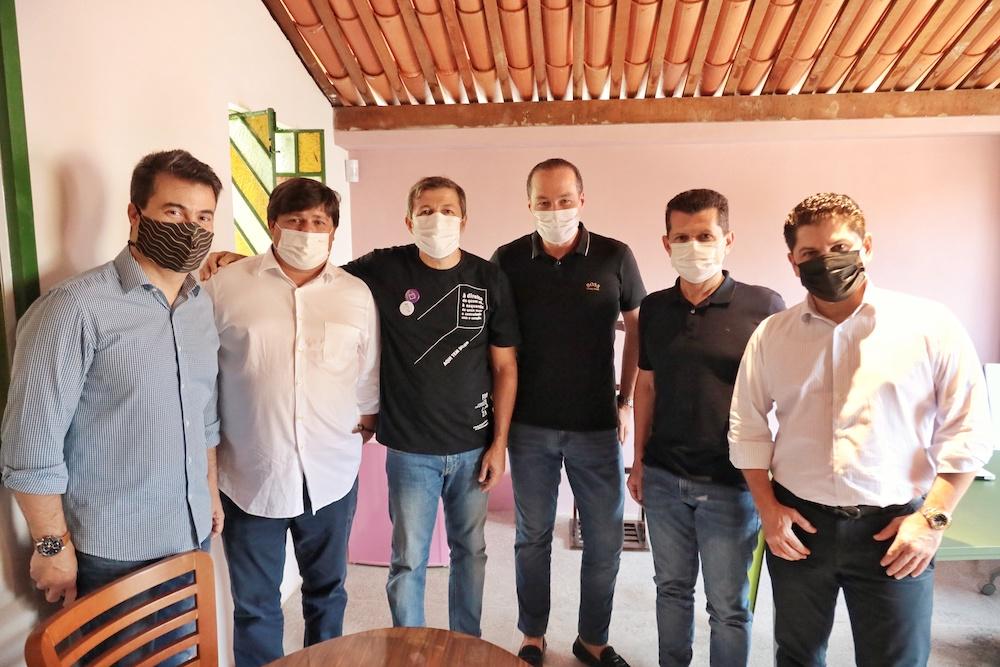 Duda Brígido, George Lima, Élcio Batista, Joaquim Araújo, Erick Vasconcelos E Pompeu Vasconcelos