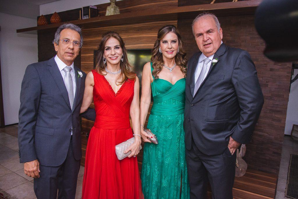 Eduardo Rolim, Sandra Rolim, Rosele Diogo E Haroldo Diogo