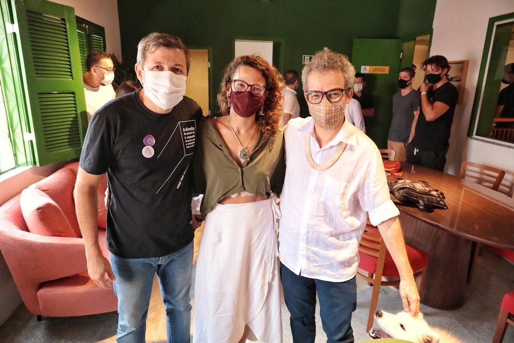 Élcio Batista, Cela, E Fabiano Piúba