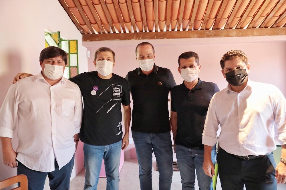Elcio Batista Com George Lima, Joaquim Araújo,erick Vasconncelos E Pompeu Vasconcelos