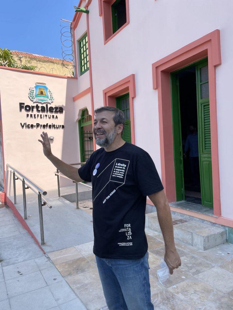 Élcio Batista Na Inauguração Da Vice Prefeitura