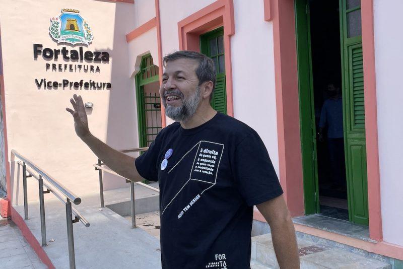 Inauguração Gabvice - Vice-prefeitura passa a ocupar icônico espaço na Praia de Iracema. Sarto e Élcio recebem convidados na inauguração
