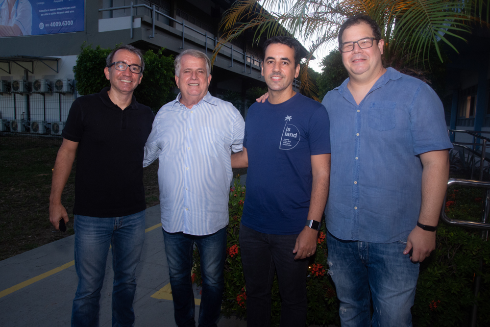 Emilio Ramalho, Antunes Mota, Aloísio Filho E Paulo Rabelo