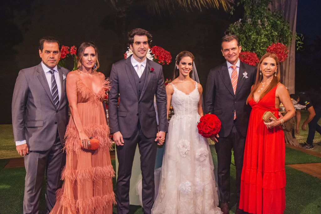 Etevaldo Nogueira, Roberta Nogueira, Raphael Nogueira, Manuela Rolim, Claudio Moreira E Weyne Moreira