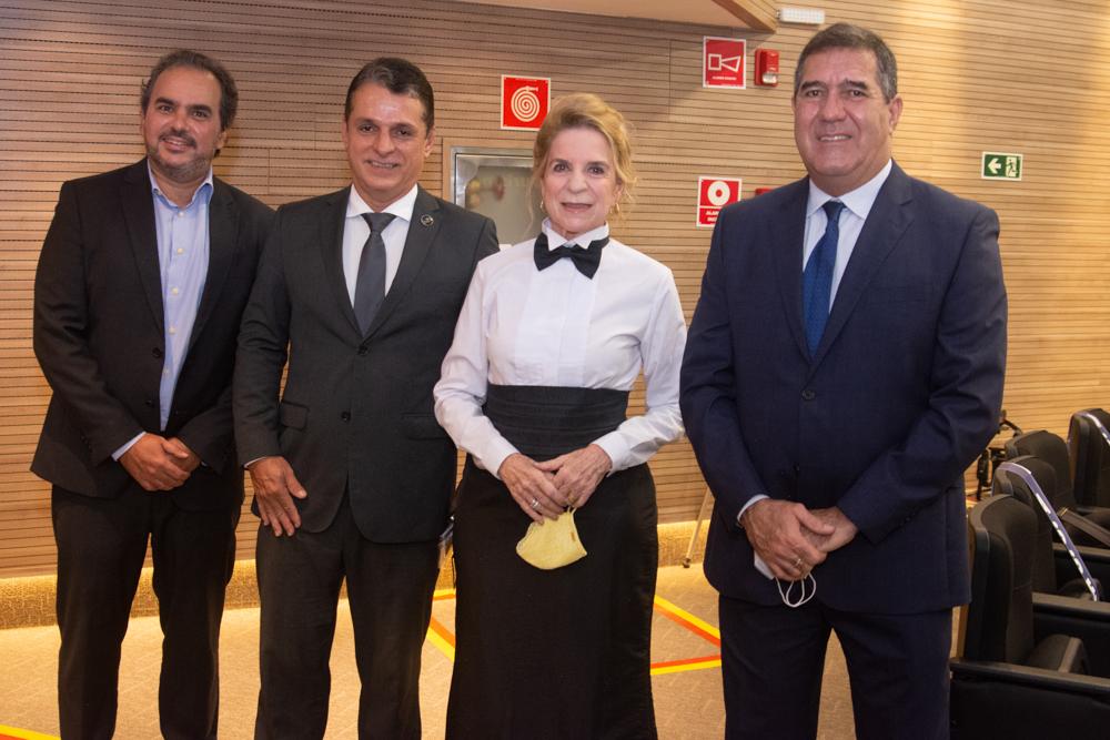Eugenio Vieira, Murilo Santa Cruz, Enya Ribeiro E Luiz Gastão Bittencourt