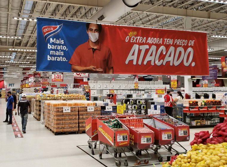 Extra Hiper altera a dinâmica comercial em Fortaleza e reinaugura suas lojas