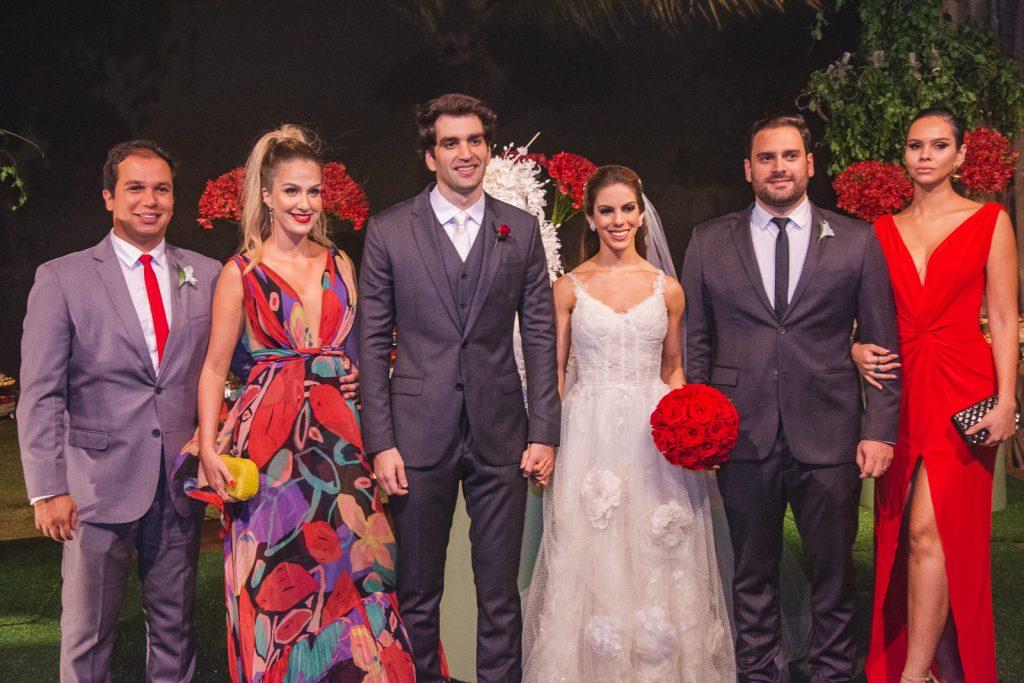 Fernando Bastos, Caterine Barbosa, Raphael Nogueira, Manuela Rolim, Mario Jereissati E Camila Lima