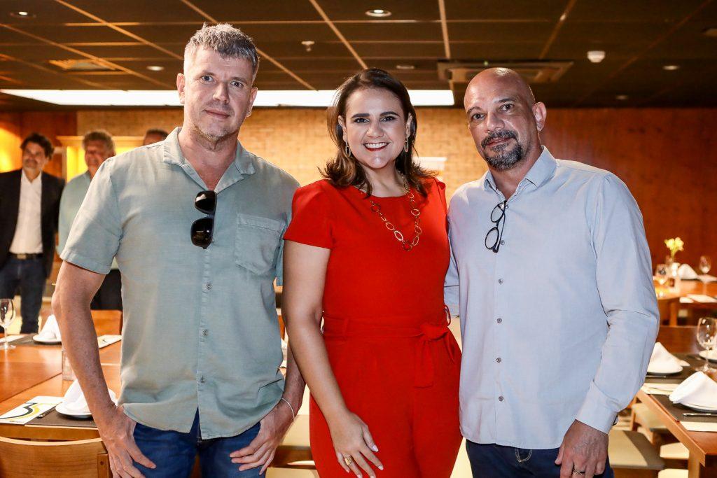 Flavio Debene, Raquel Maia E Ricardo Hilsdorf