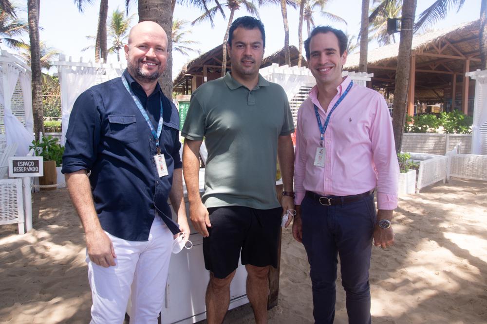 Fred Cavalcante, Felipe Lima E Ivan Dias