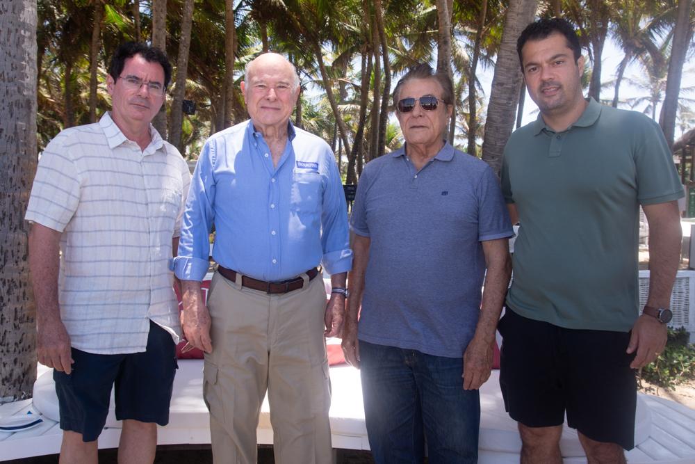 Guillermo Alcorta, Paulo Menezes, Ivon Levy E Felipe Lima