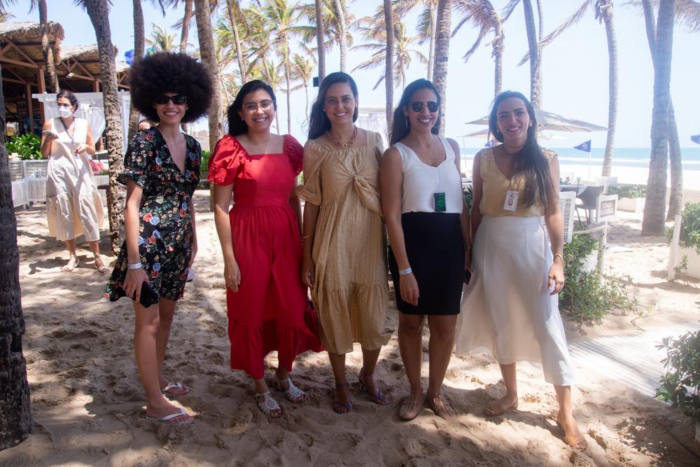Heloisa Alves, Mariana Amorim, Gisele Leal, Joyce Sales E Eliz Mota