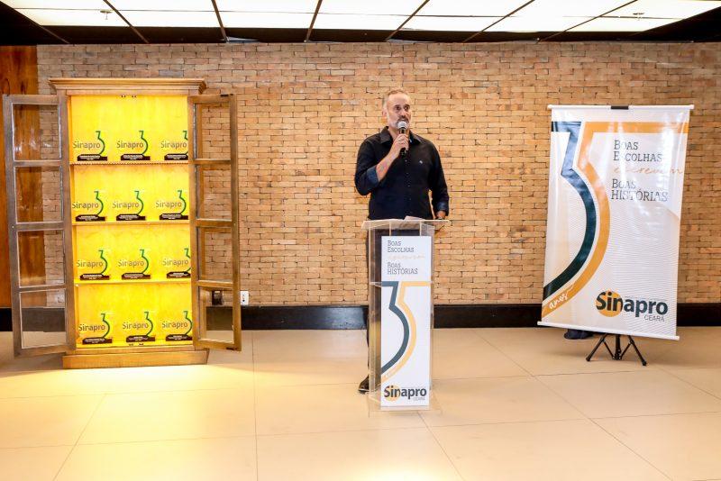 Mercado publicitário cearense - Sinapro Ceará brinda seus 35 anos com homenagem aos ex-presidentes da entidade