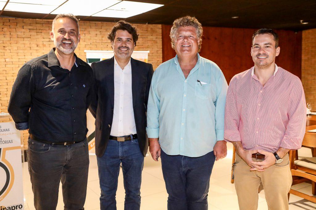 Henrique Donato, Daniel Queiroz, Evandro Colares E Miguel Dias