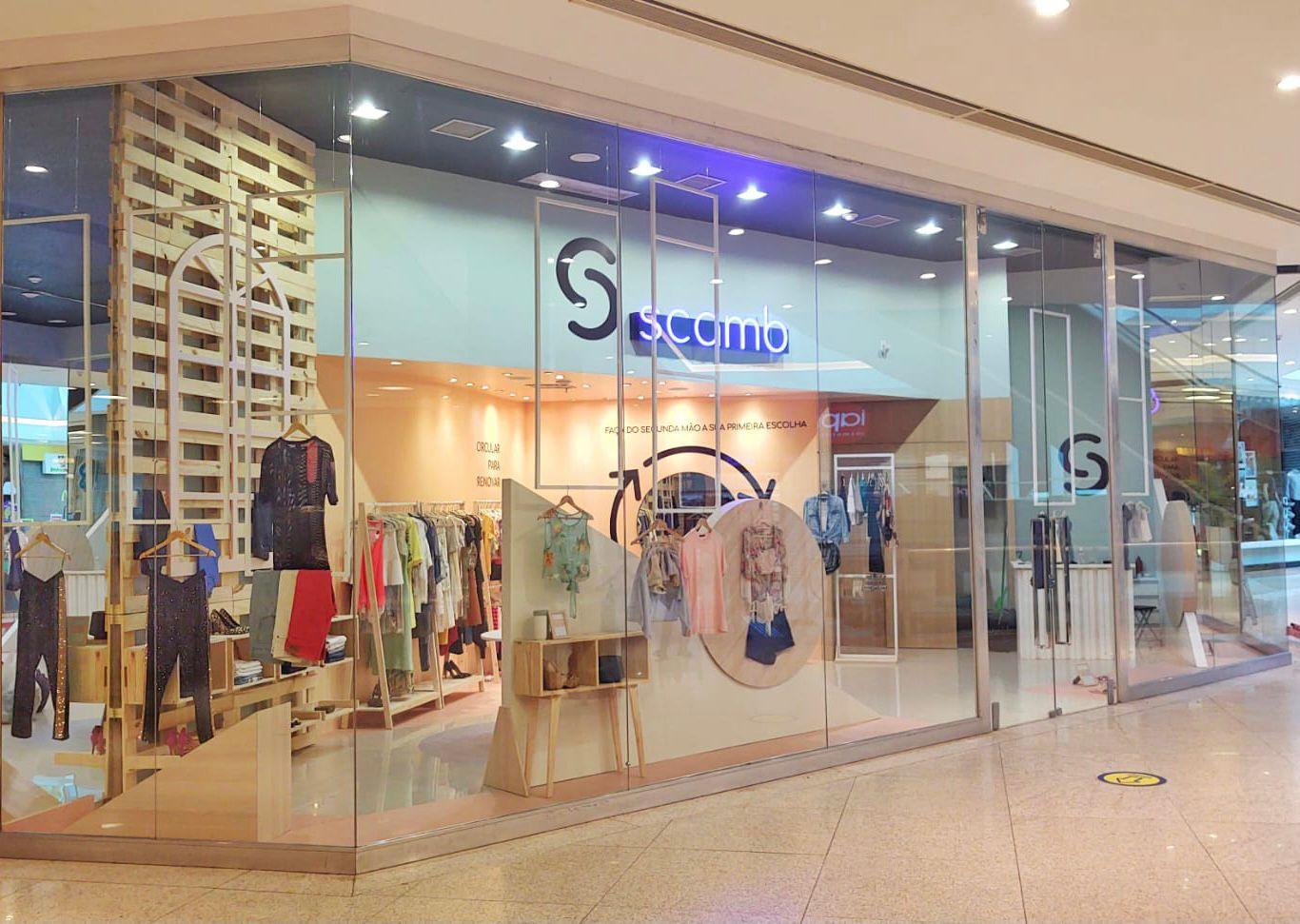Shopping RioMar Fortaleza recebe a primeira loja física da Scamb no Brasil