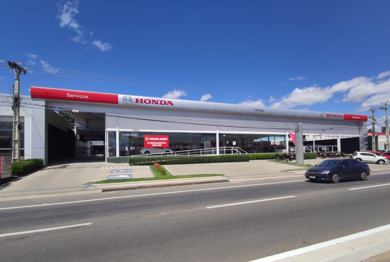 No interior, Novaluz Sul ganha reconhecimento da própria Honda