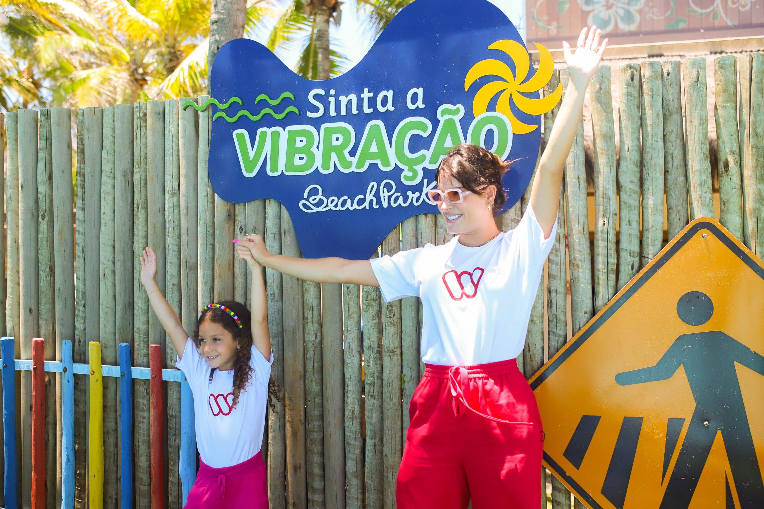Beach Park recebe ação em alusão ao mês das crianças realizado pelo WSolidário
