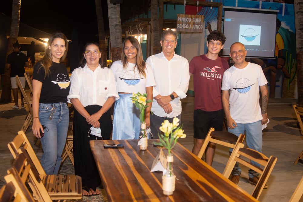 Joana Ramalho, Isabela Ramalho, Fabrini Andrade, Severino Ramalho Neto, Victor Ramalho E Carlos Bezerra