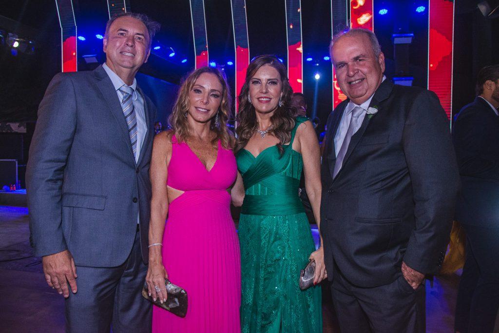 Joao Cateb, Ana Paula Melo, Rosele Diogo E Haroldo Diogo