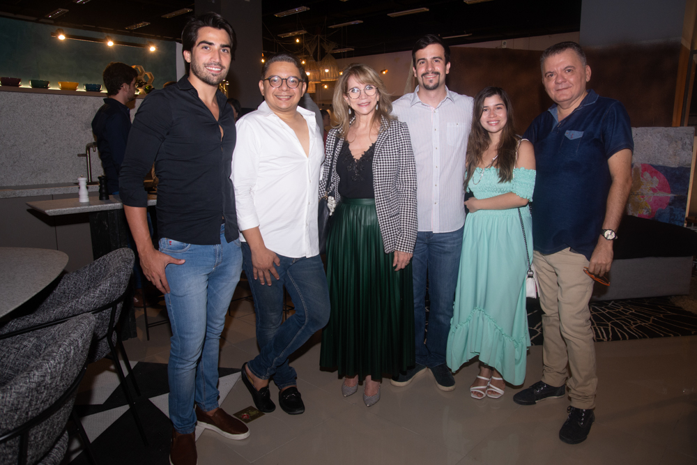João Victor Brasileiro, Carlos Zaranza, Sofia Linhares, Jade Viana E Omar De Albuquerque