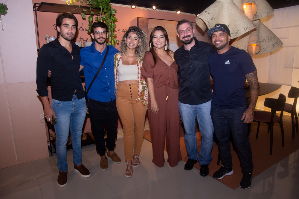 João Victor Brasileiro, Gustavo Augusto, Manu Marques, Camila Osuji, Rodrigo Sampaio E Max Barbosa